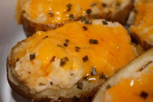 A freezer side dish: 24 Twice Baked Potatoes