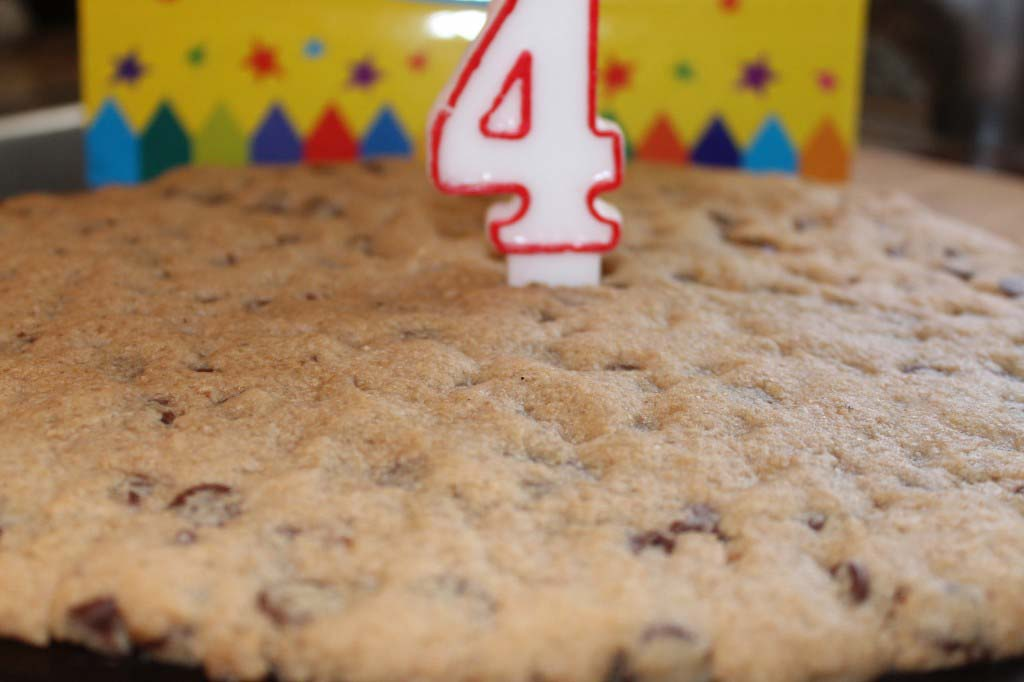 Birthday cookie