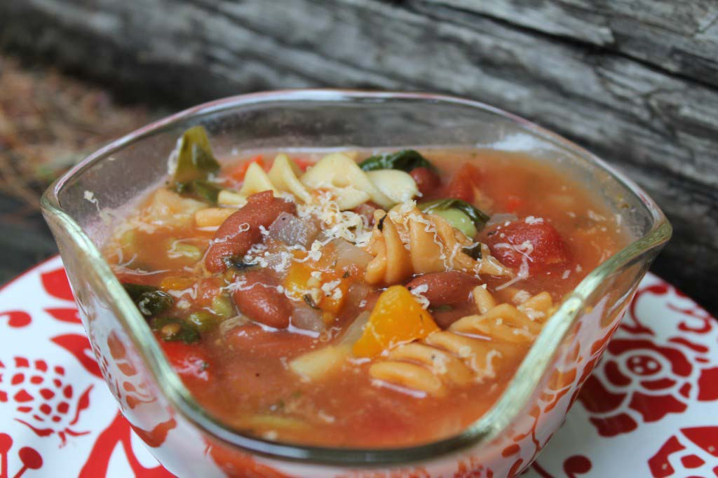 Easy Minestrone Soup {Versatile}