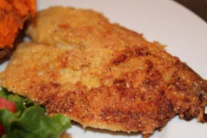 Pan Fried Tilapia {Healthier}