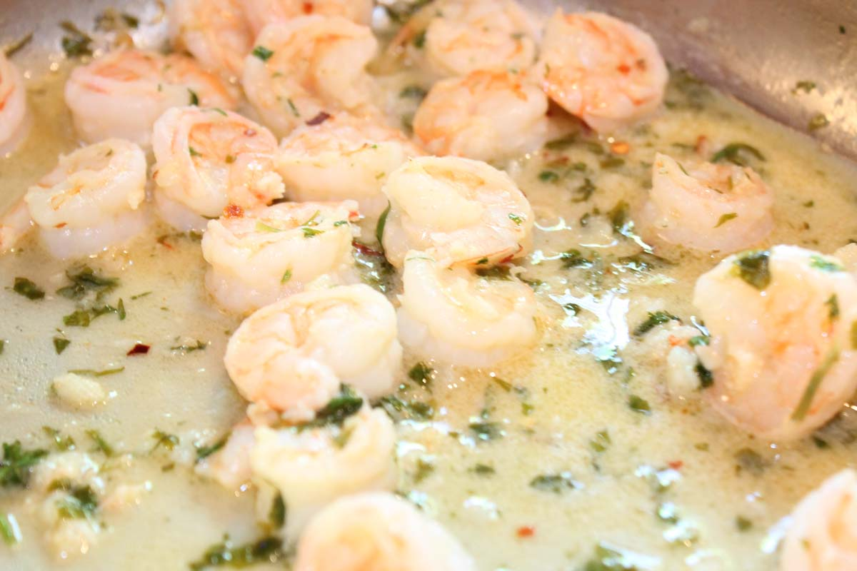 garlic shrimp scampi 2