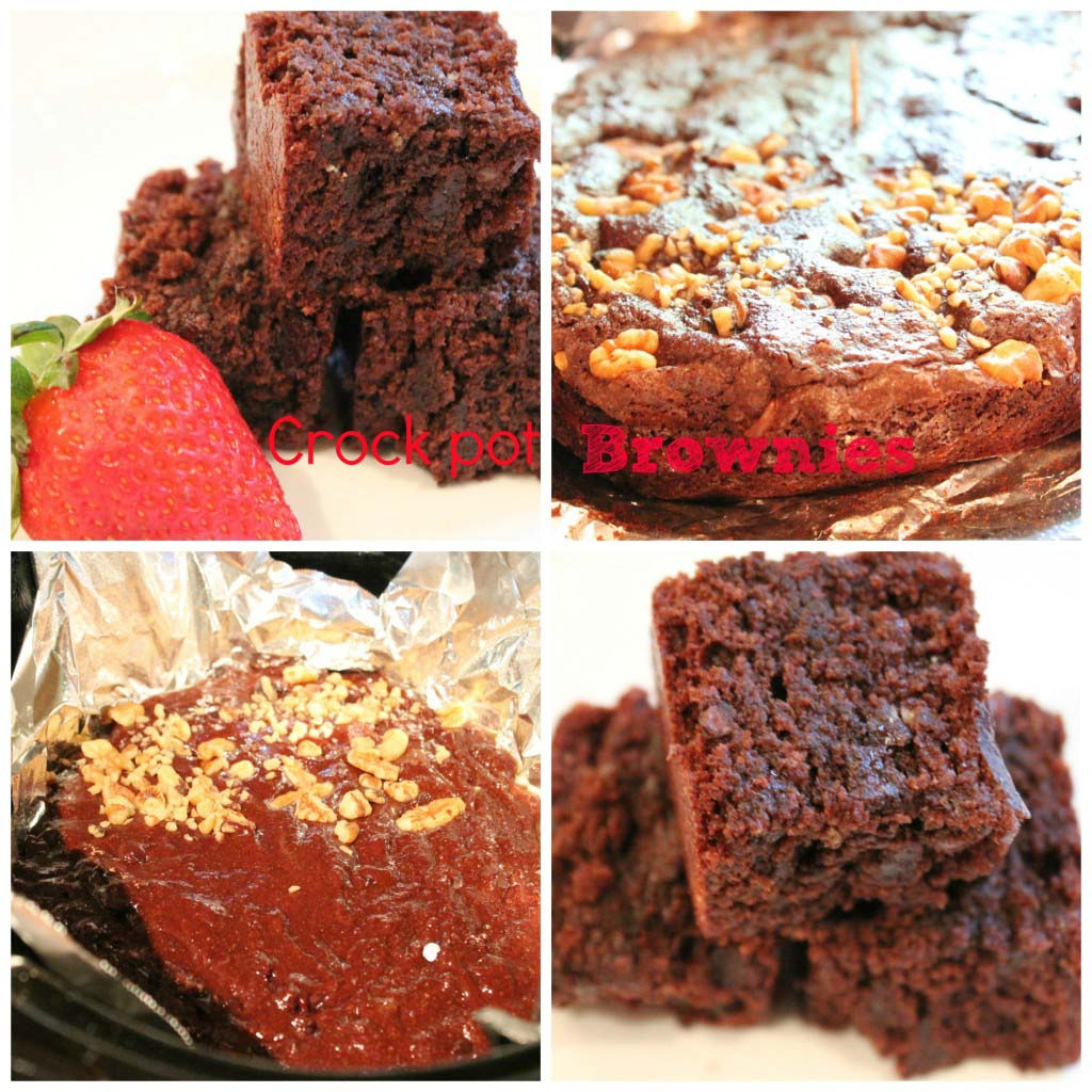 crock pot brownies