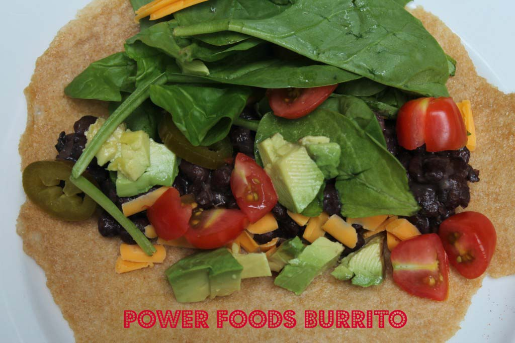 Power foods burrito