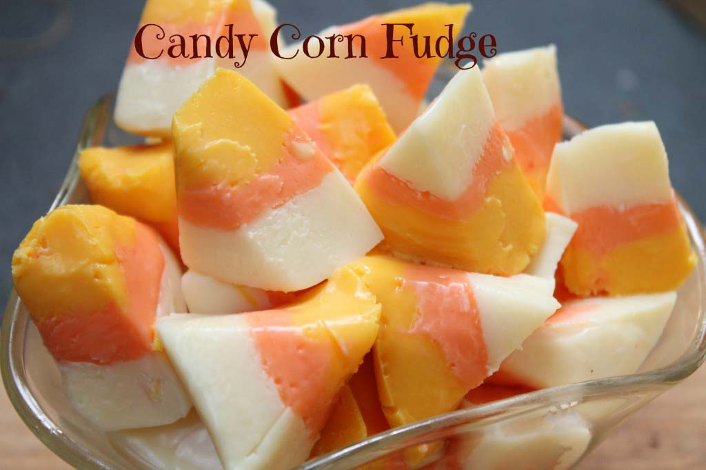 Boo-licious Party Part 3: Candy Corn Fudge