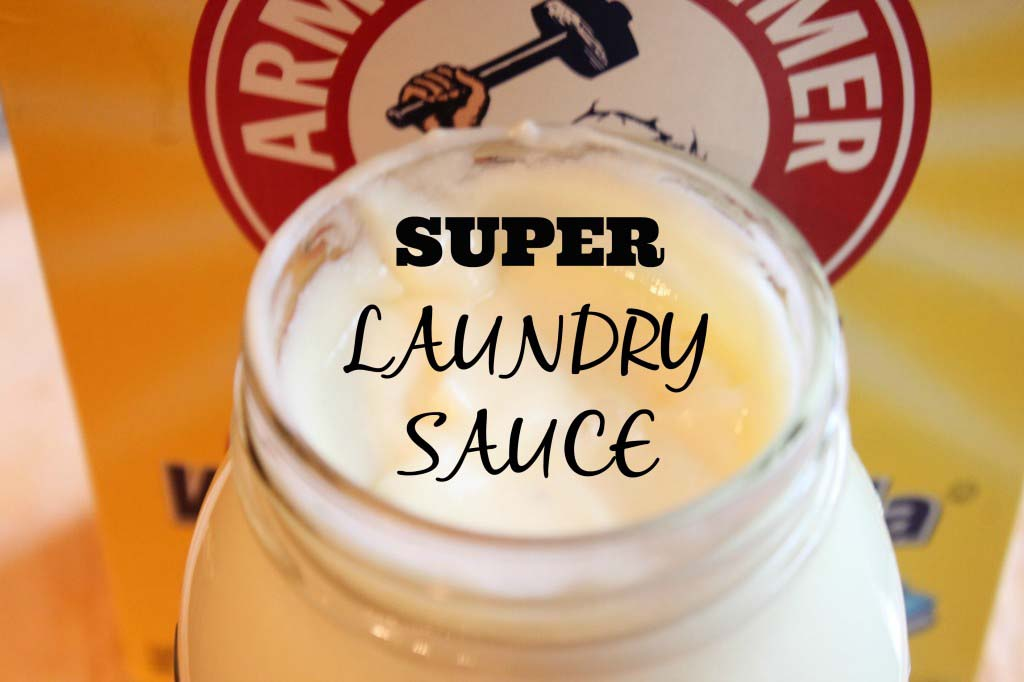DIY NO COOK Laundry Sauce {1.76=128 loads}