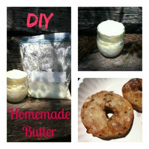 DIY: Homemade Butter In a Bag