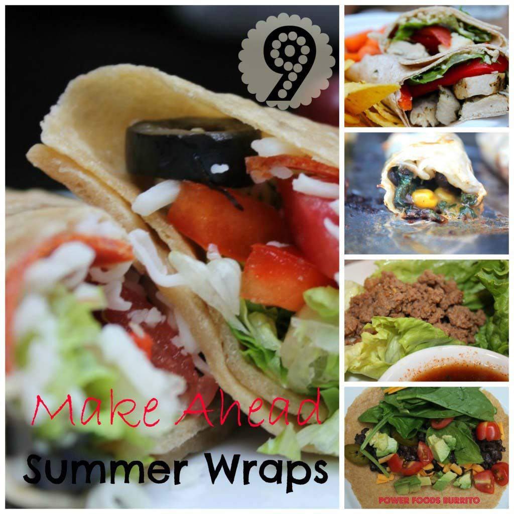 9 Totally Terrific Make Ahead Freezer Wraps {Low and no carb-options}