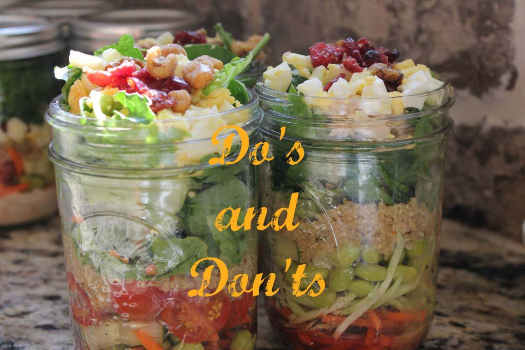 salad dos and  donts