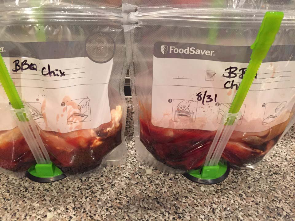 Weeknight Freezer Meals: BBQ Chicken and Wendy's Chili