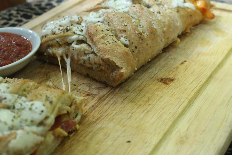 Pepperoni and Cheese Stromboli (Freezer Friendly)