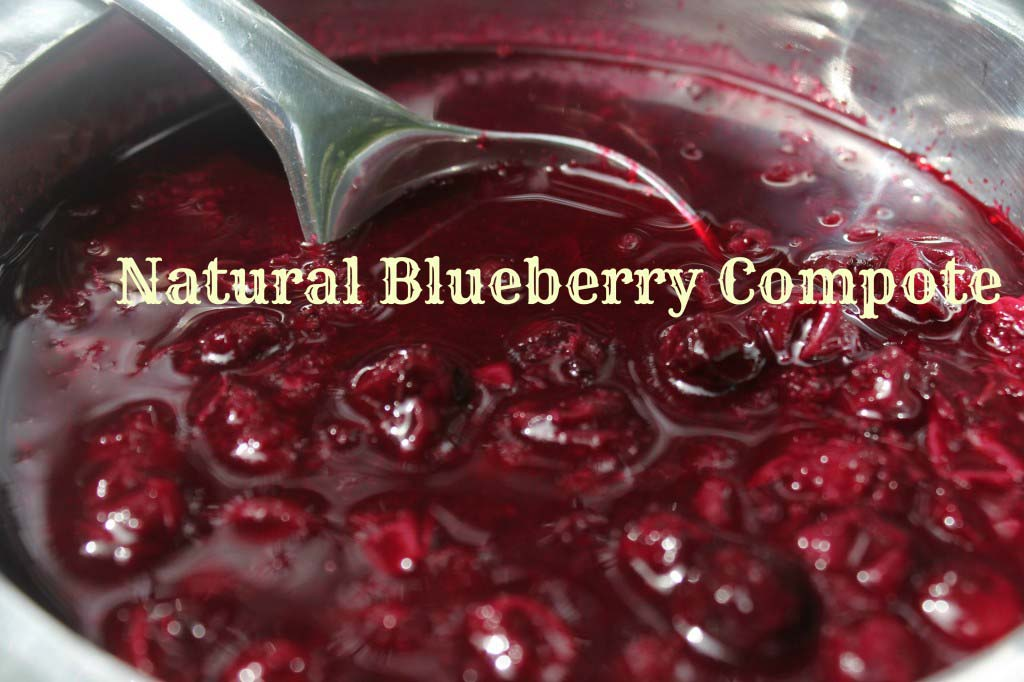 Make Ahead Blueberry Compote