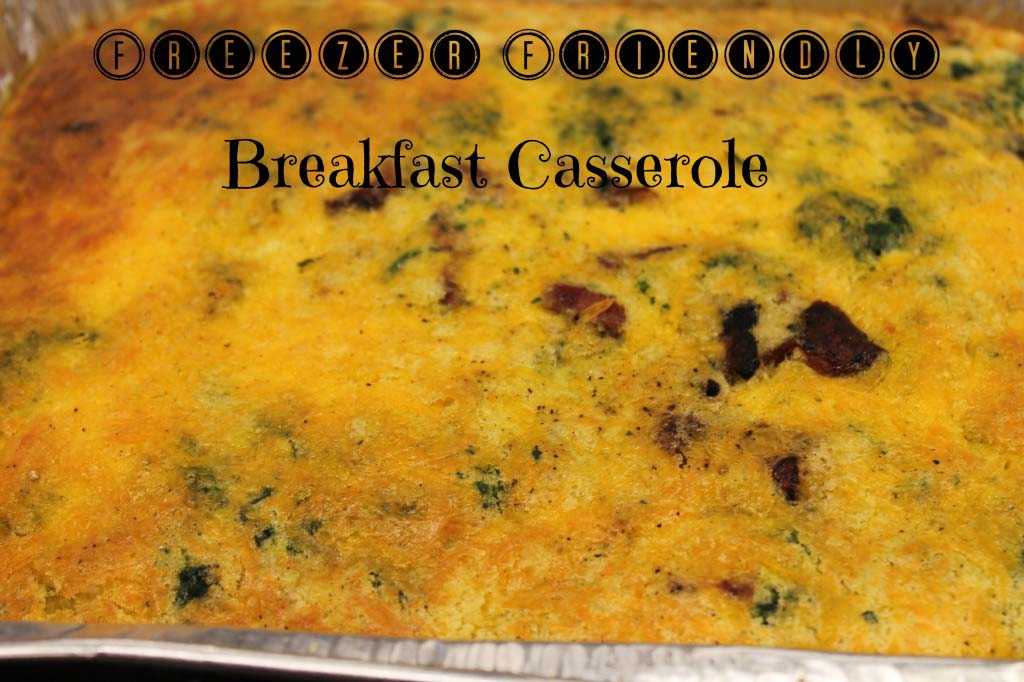 Freezer Breakfast Casserole
