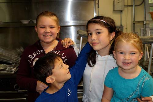October Mission Meal: Kids Can Help