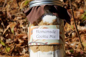 Homemade Cookie Mix in A Jar