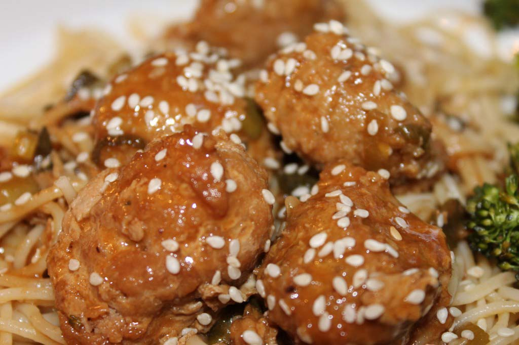 Crock pot Asian Meatballs (Freezer Meal)