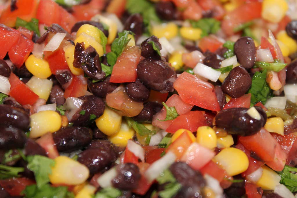 Black Bean and Corn Salsa/Salad