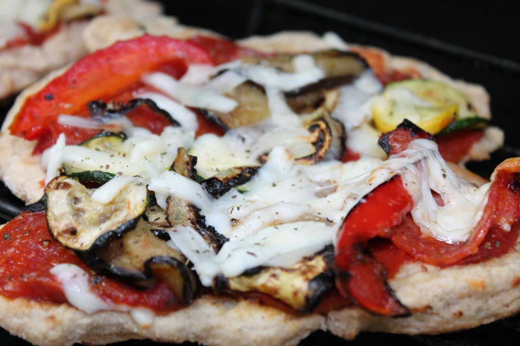 Shoebox Grilled Flatbread Pizza