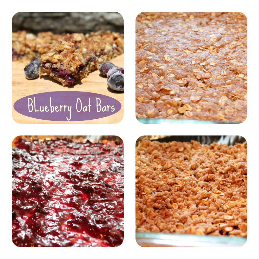 Blueberry Oat Bars {Freezer Friendly Cereal Bars}