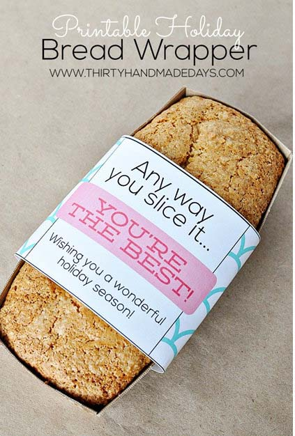 Bread Gifts {Free Printable}