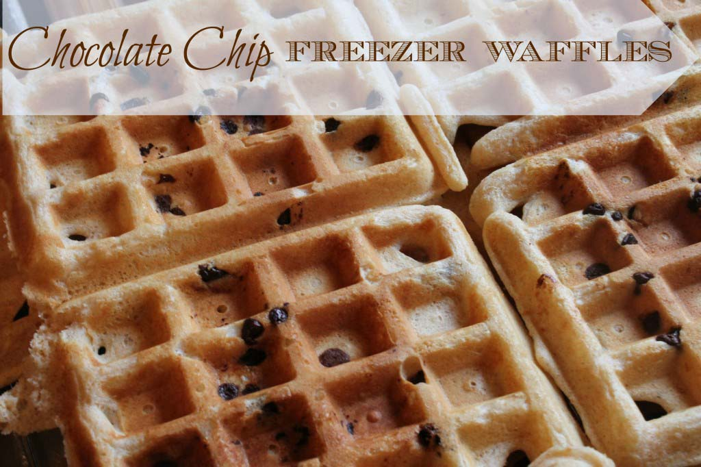 Chocolate Chip Freezer Waffles