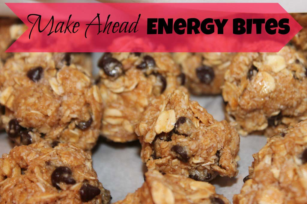 Make Ahead Energy Bites {freezer friendly}