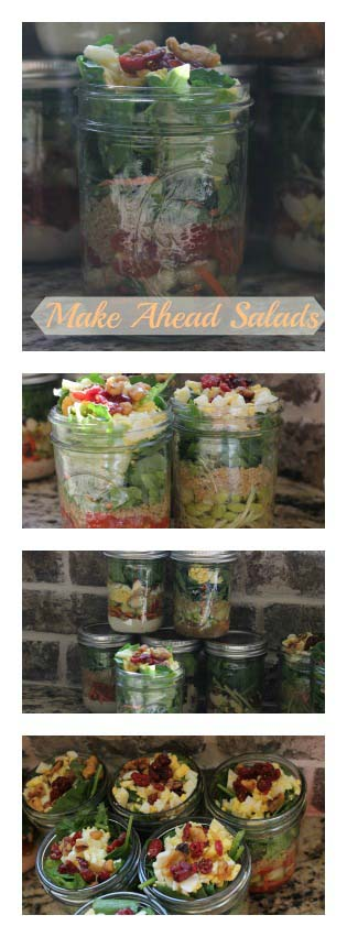 Make Ahead Salads