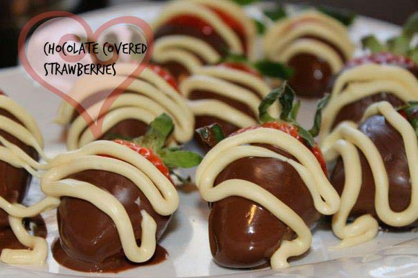 Chocolate Covered Strawberries {Microwave Prep}