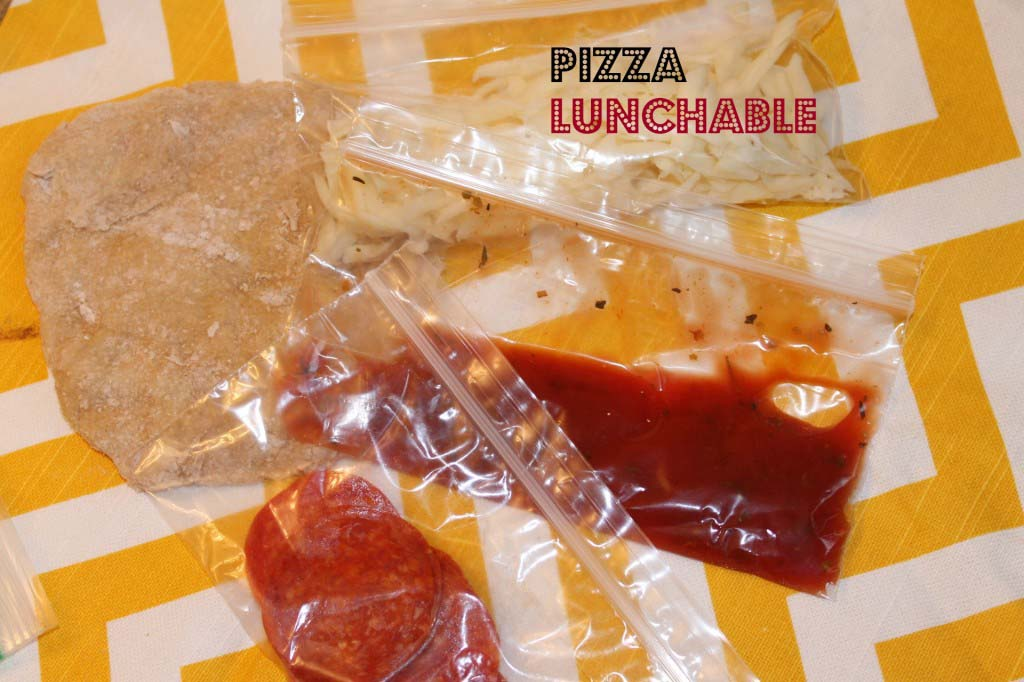 DIY Mini-Pizza Lunchables