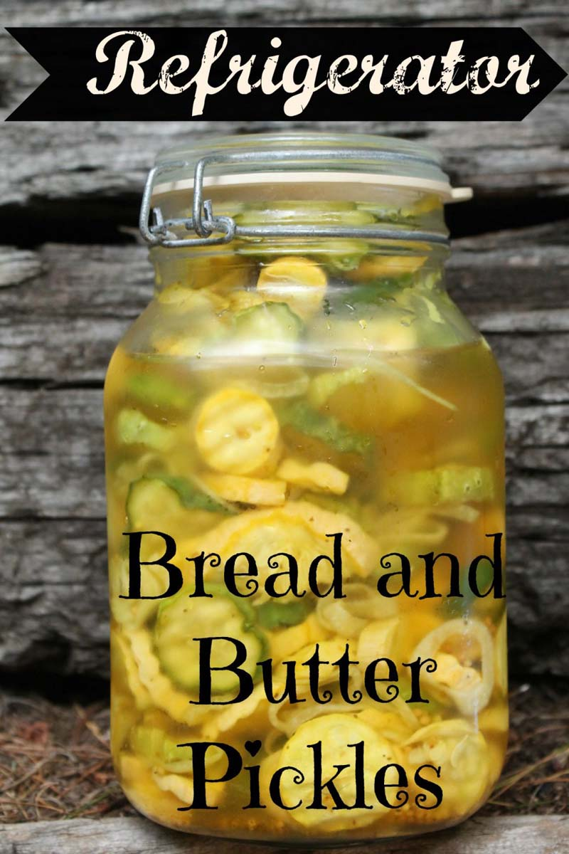 Super Easy Bread and Butter Pickles plus Kitchen Tips