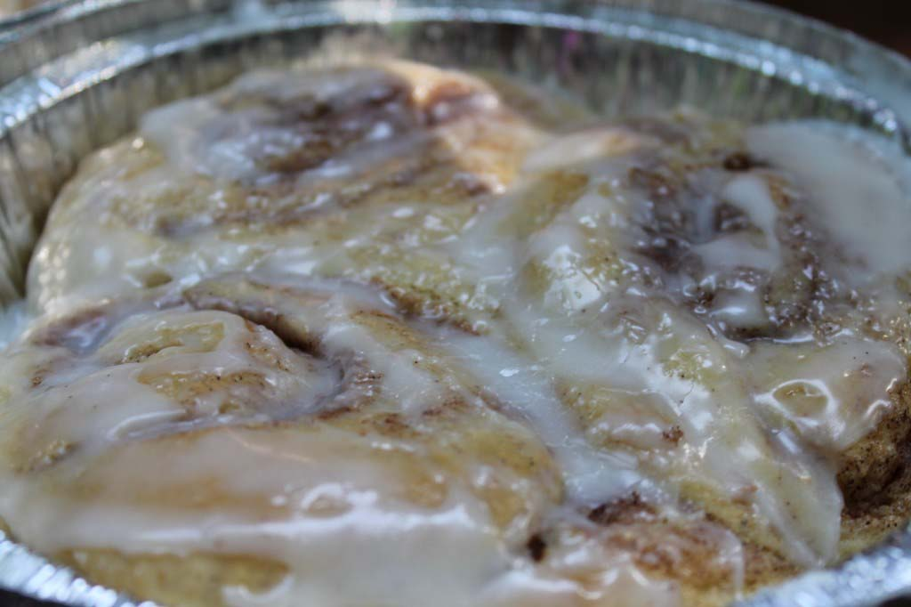To Frost or Not to Frost Cinnamon Rolls to Freeze for the Beach