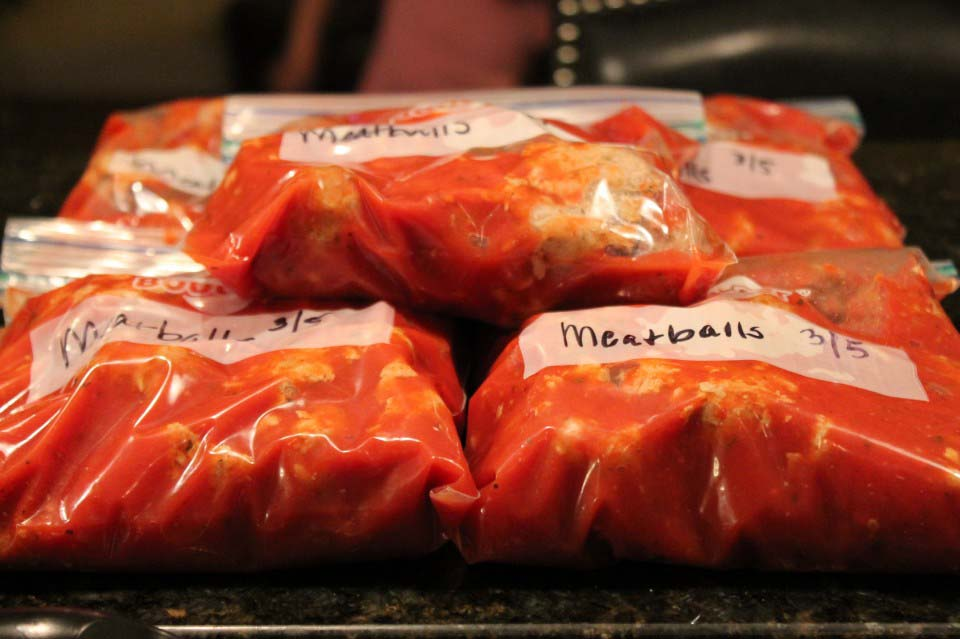 A New Way to Freeze Meatballs plus 5 Ways to Eat Them