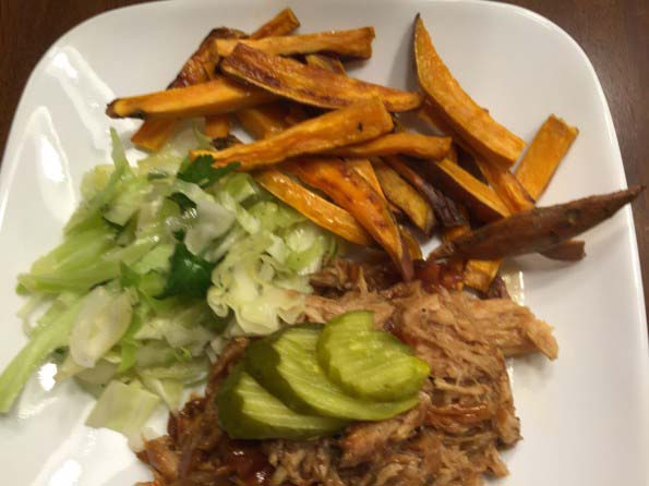 Crock Pot Pork Loin BBQ
